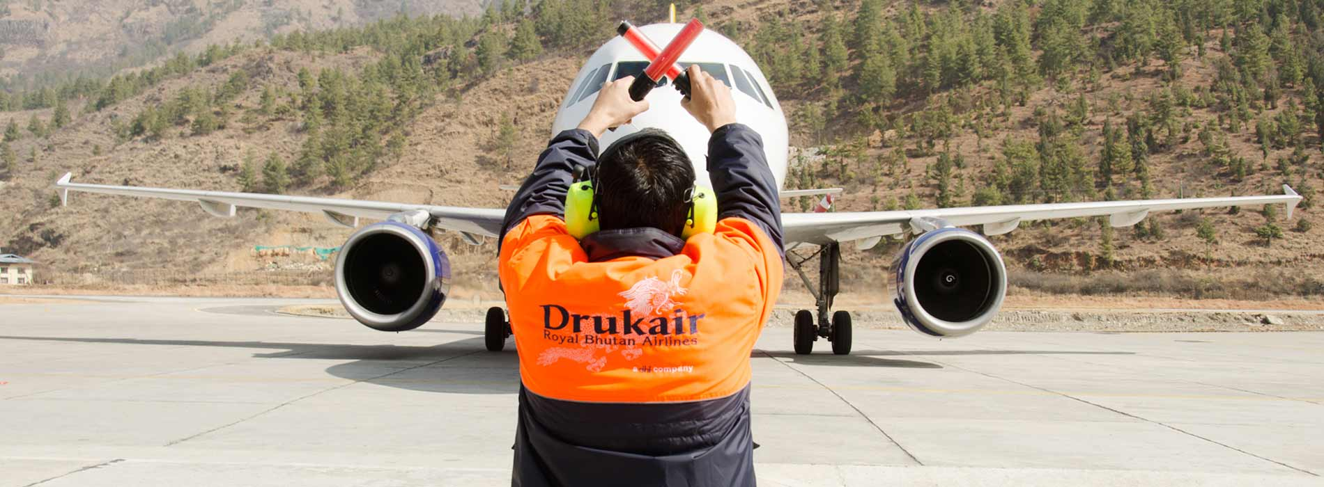 Drukair- Royal Bhutan Airlines